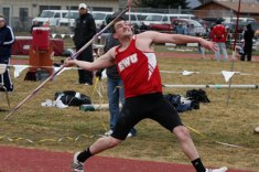 Aaron Mettler top ten Javelin