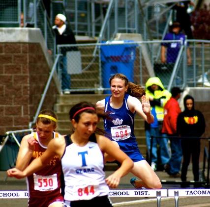 Ashley Cornia state 300 hurdles