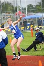 Jamie Weisner state Champion Javelin