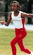 SEVILLE BROUSSARD- Record Holder 100 and 300hurdles