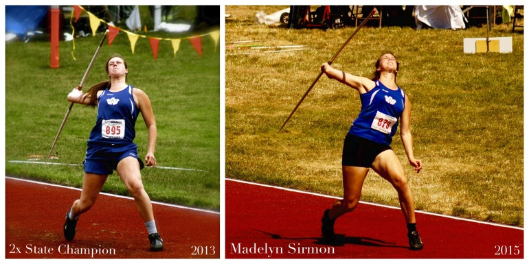 2x State Champion Madelyn Sirmon 2013 and 2015